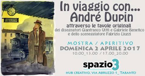 """Mostra-Aperitivo """"In viaggio con Andrè Dupin"""""""