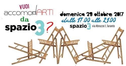 Vuoi accomodARTI da Spazio3?